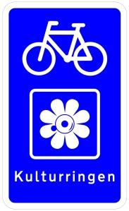 Kulturringen cykelskilt 2017